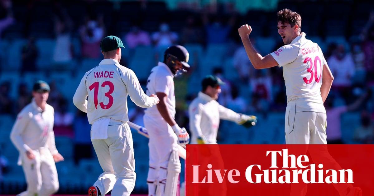 Australia v India: third Test, day five – live!