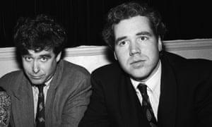 McInerney and Bret Easton Ellis in 1990