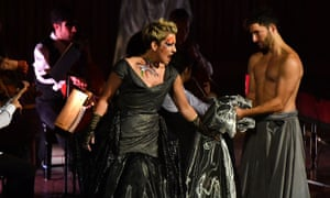 Finesse and commitment .. Joyce DiDonato performs In War and Peace at the Barbican, London.