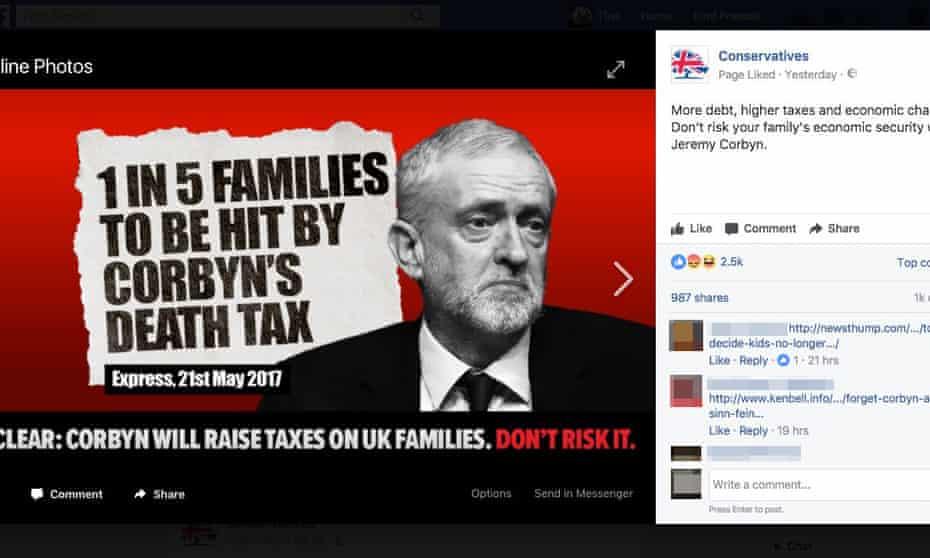 Anti-Labour 'attack' ad