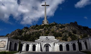 The Valley of the Fallen, where Francisco Franco is buried.