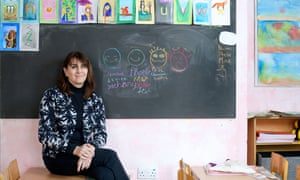 Fran Russell, executive director of Steiner Waldorf Schools Association photographed at the Greenwich Steiner School