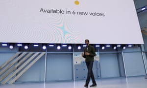 Google CEO Sundar Pichai earlier this month.
