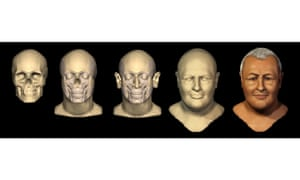 University of Dundee researchers used 3D modelling software to depict Bach's face.