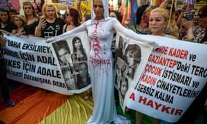 lgbt protest turkey