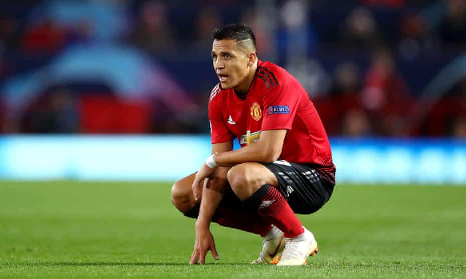 Alexis Sánchez has, to date, been paid £14.5m by Manchester United.