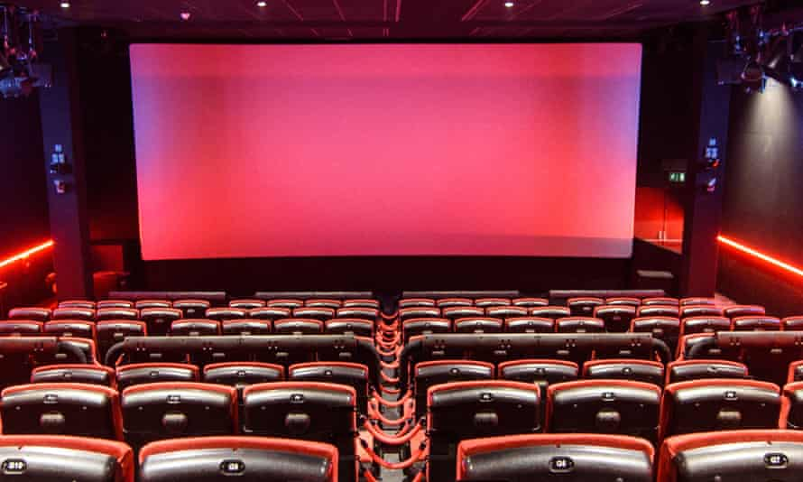 A 4DX screen at Cineworld Leicester Square