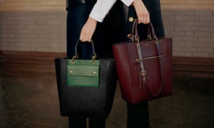 Bags from Mulberry's 2016 collection.
