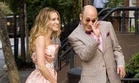 Carrie (Sarah Jessica Parker) and Stanford (Willie Garson).