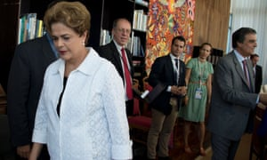 Brazil's senate ejected Dilma Rousseff from office as it moves towards her likely impeachment.