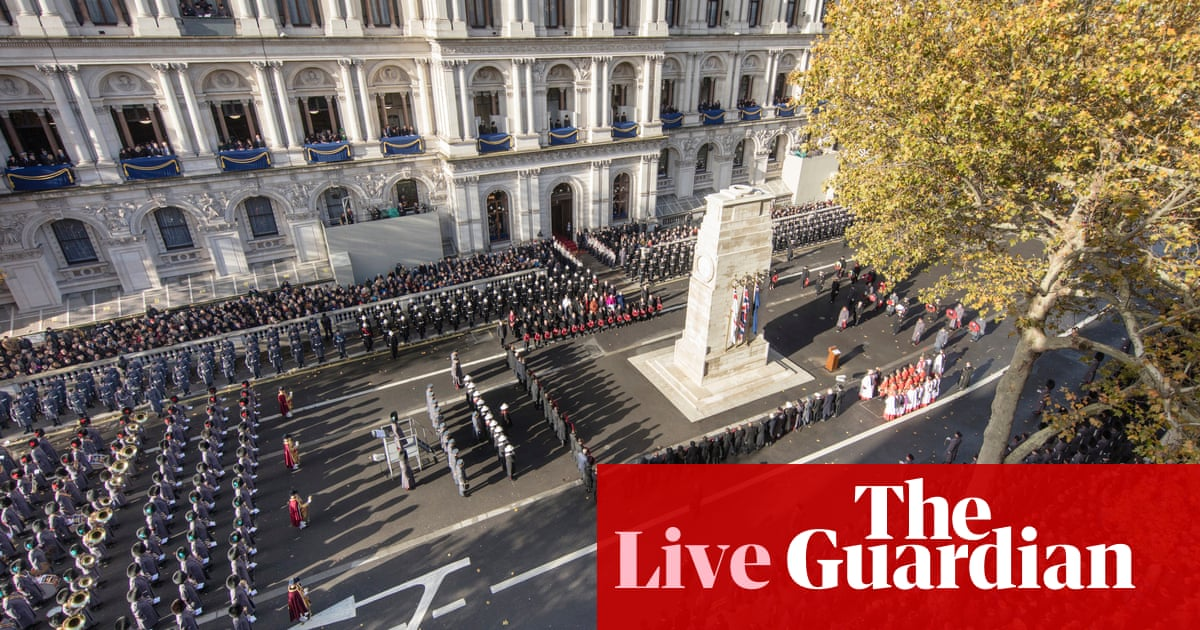 Armistice Day: moving events mark 100 years since end of first world