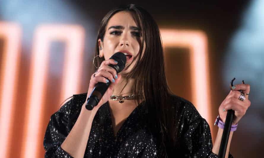Dua Lipa performs at BBC Radio 1's Big Weekend, 28 May 2017 at Burton Constable Hall