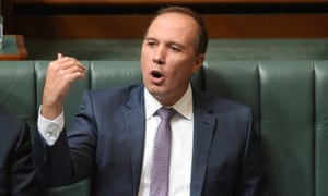 Peter Dutton the most prominent minister in a vulnerable seat.