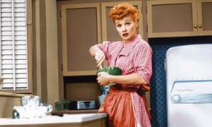 'I liked her because she made Grandma laugh' … I Love Lucy in 1955.