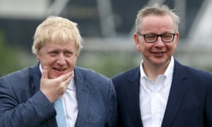 Boris Johnson and Michael Gove were members of the Oxford Union Society, which arranged the 'slave auction'.