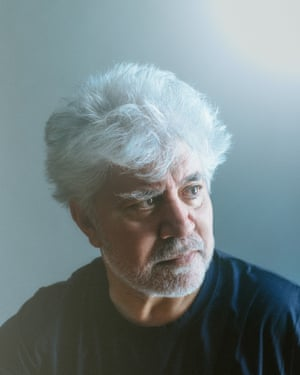 Film director Pedro Almodóvar photographed in his Madrid offices