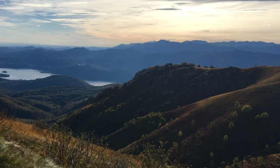 Early evening high on Mount Mottarone.