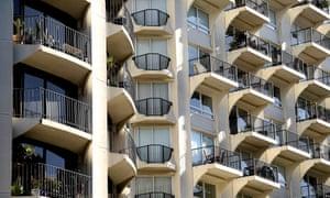 Residential housing in Sydney, Australia, 26 July 2018.
