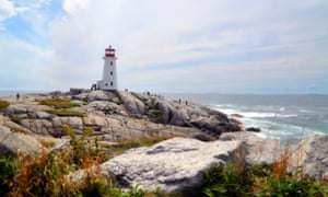 Peggy's Cove lighthouse, Halifax, Nova Scotia.