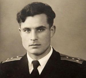 Vasili Arkhipov, who family will receive the posthumous award on his behalf.