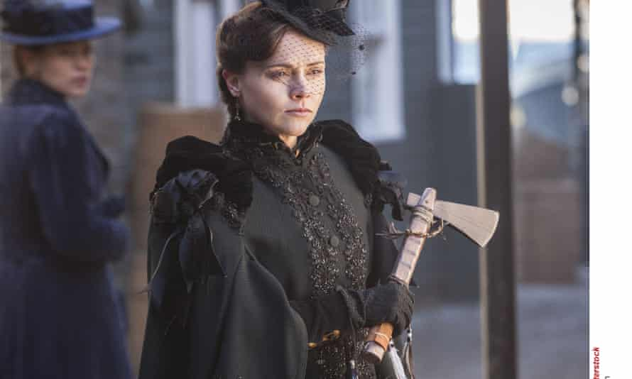 Christina Ricci in The Lizzie Borden Chronicles.