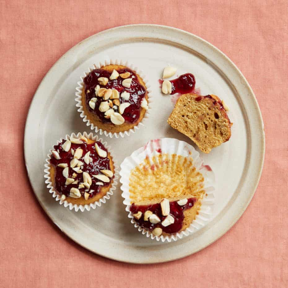 Ravneet Gill's peanut butter cupcakes.