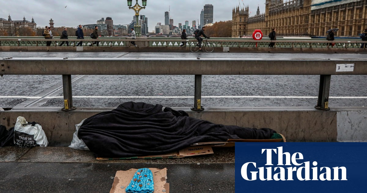 Homeless deaths in England and Wales rise for fifth year in a row
