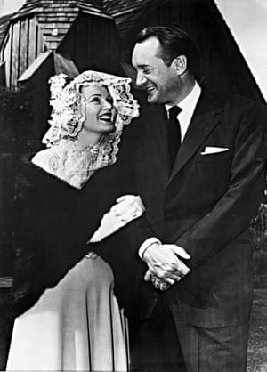 Zsa Zsa Gabor and George Sanders
