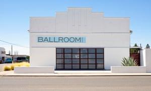 Contemporary art gallery Ballroom in Marfa, Texas