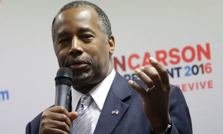 Ben Carson, Republican presidential candidate