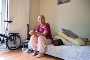 Visakha Dasi in her home in Alachua, Florida.