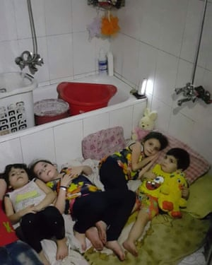 Hamami family in besieged Aleppo