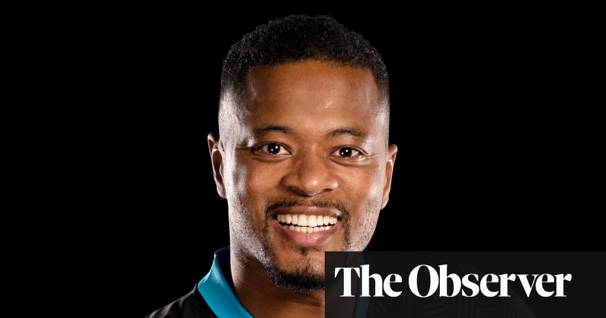 Sunday with Patrice Evra: 'Eating popcorn in the cinema takes me away'