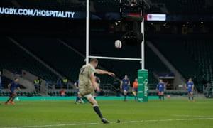 Farrell kicks the winning penalty in sudden death