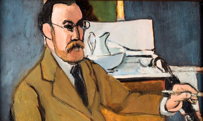 Henri Matisse's Self Portrait (1918). Click here to see the full image. Photograph: Philip Bernard/Succession H Matisse/DACS 2016