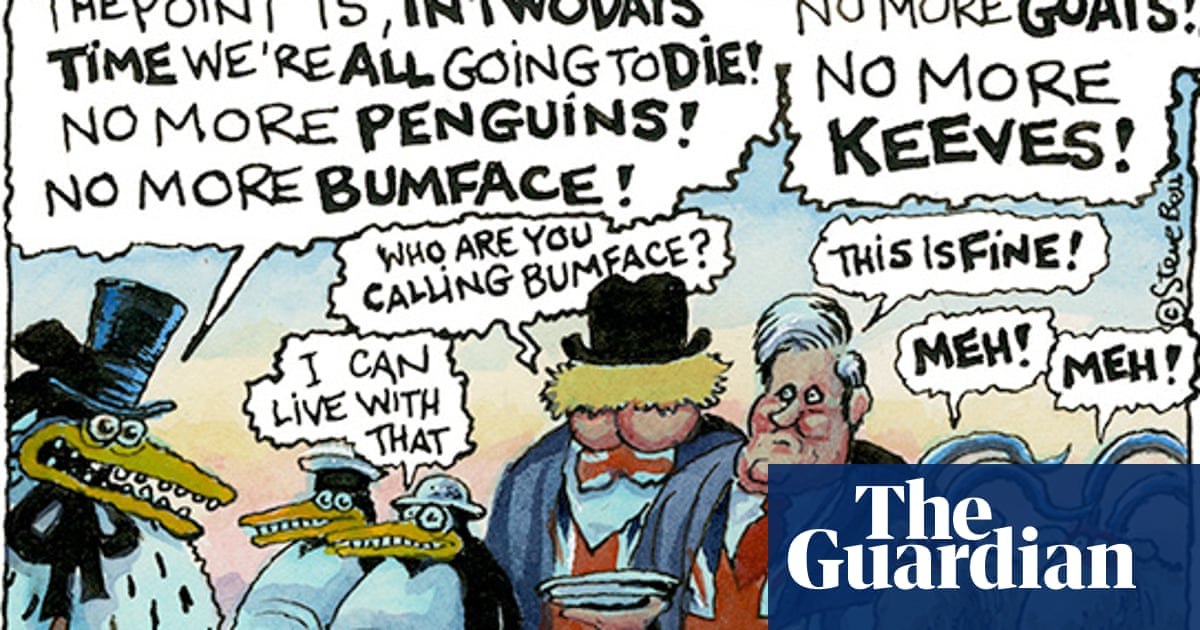 Thank you, Steve Bell, for decades of the unflinching If…