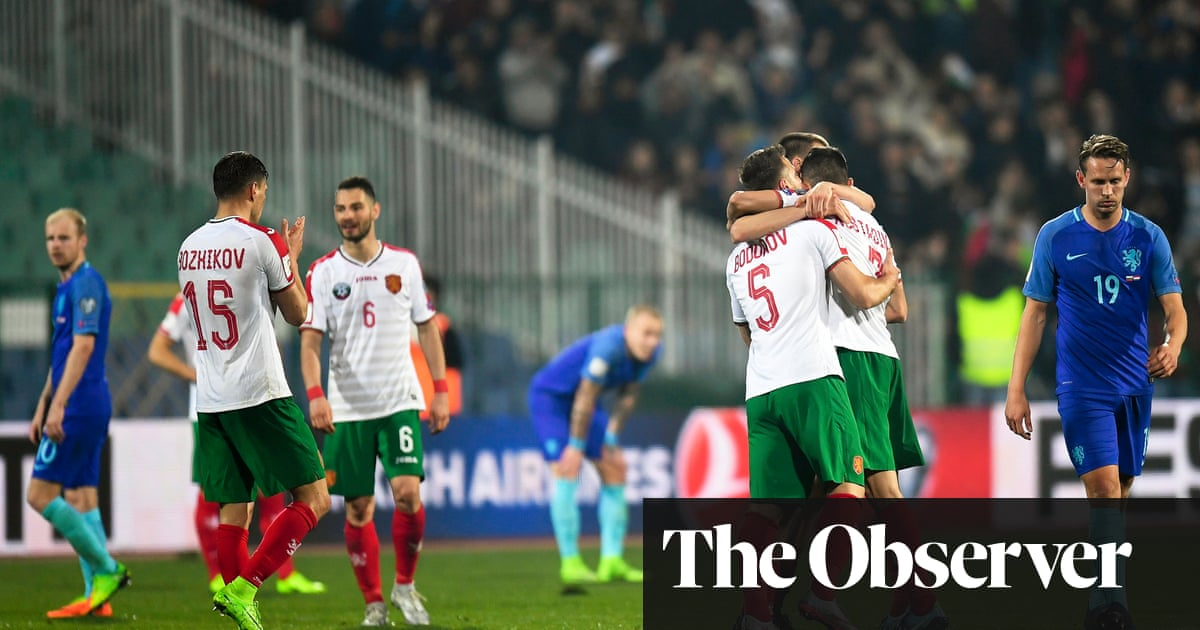 Matthijs de Ligt suffers nightmare debut as Holland are stunned by Bulgaria   b68bda523