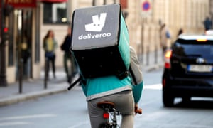 Deliveroo already monitors its riders and drivers' performance.