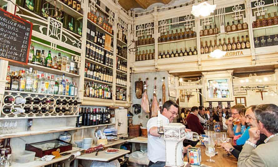 El Rinconcillo tapas bar, Seville, Spain.