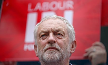 Jeremy Corbyn during an EU referendum campaign rally in Doncaster on 27 May 2016.