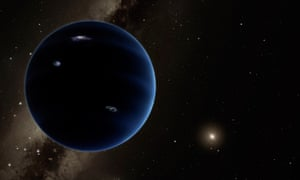 The theoretical Planet Nine is somewhere along a 10,000 or 20,000-year orbit.