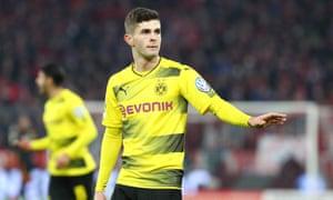 Dortmund's Christian Pulisic