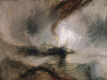 'A whirlpool of scacading water' … Turner's Snow Storm – Steamboat off a Harbour's Mouth.