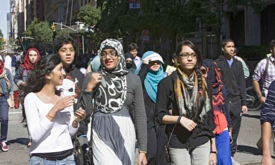 Muslim teens