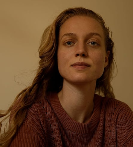 A photograph of Lotte Hondebrink, 23, a philosophy PhD student.