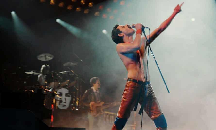 Rami Malek in Bohemian Rhapsody.