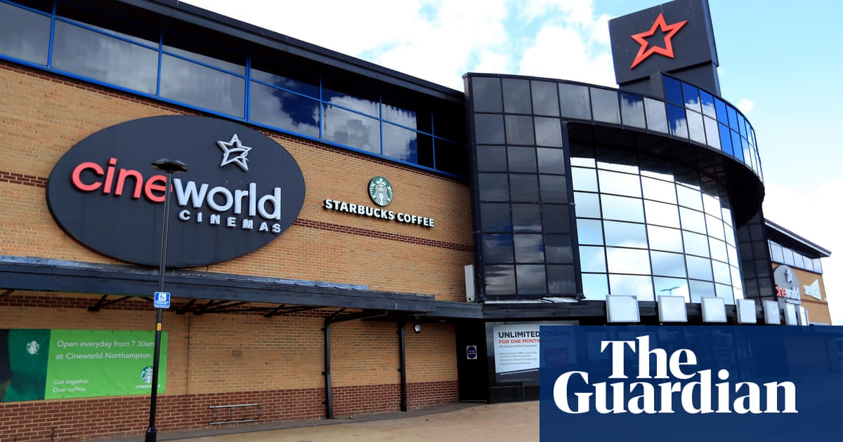 Cineworld makes $3bn loss as Covid cinema closures take toll