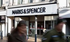 Marks & Spencer in Huddersfield, Yorkshire.