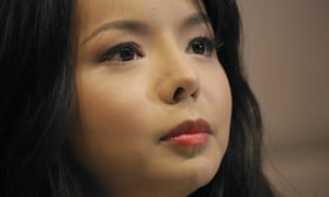 Canada's Miss World contestant Anastasia Lin was barred on Thursday from entering China to take part in this year's pageant.