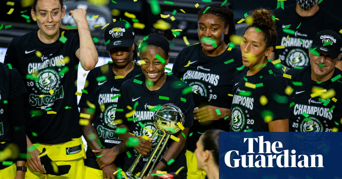 Superb Breanna Stewart leads Seattle Storm to record-tying fourth WNBA title